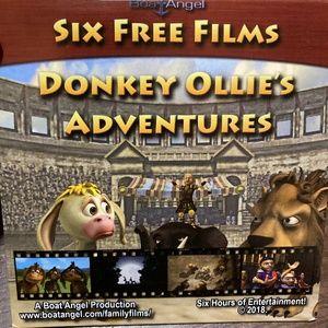 Donkey Ollie's Adventures 6 Films DVD-New!
